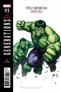 Generations: Banner Hulk & Totally Awesome Hulk #1A VF/NM; Marvel | save on ship