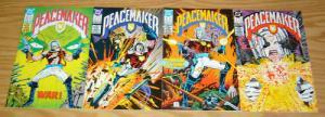 Peacemaker #1-4 VF/NM complete series - paul kupperberg set lot 2 3 dc comics