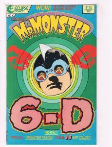 Mr Monster #10 FN Eclipse Comics Comic Book Gilbert 1987 DE38 AD11