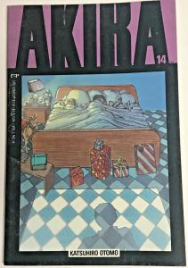 AKIRA#14 VF 1989 MARVEL COMICS