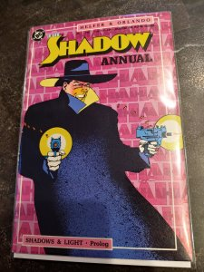 ​THE SHADOW ANNUAL #1 NM