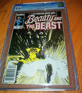 Beauty and the Beast CGC #1 (Dec-84) NM+ Super-High-Grade The Beast