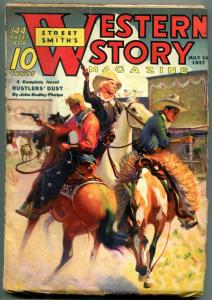 Western Story Magazine Pulp July 10 1937- Rustlers Dust FN