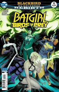 Batgirl And The Birds of Prey #10 Rebirth Main Cvr (DC, 2017) NM