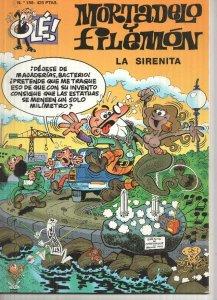 Ole numero 155: Mortadelo y Filemon: la sirenita