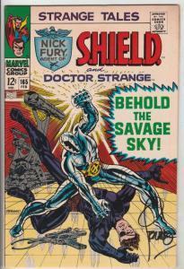 Strange Tales Signed #165 (Feb-68) FN/VF+ High-Grade Nick Fury, Dr. Strange