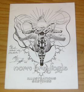 Norm Breyfogle: Illustrations & Sketches #1 FN signed by breyfogle 2003