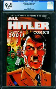 All Hitler Comics #1 CGC 9.4-2000-Paragon-HTF-RARE 2006682001