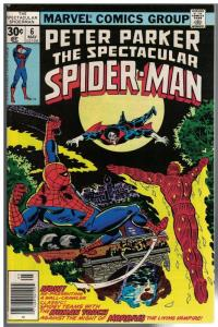 PETER PARKER 6 VF-NM  May 1977