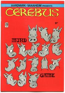 CEREBUS the AARDVARK 20, VF/NM, Dave Sim, 1977, more in store, QXT