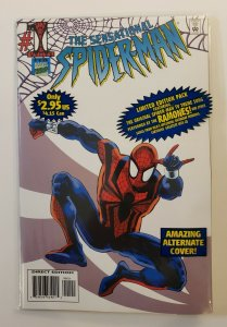 SENSATIONAL SPIDER-MAN #1 MUSIC VARIANT WITH CASSETTE  TAPE SEALED POLY BAGGED
