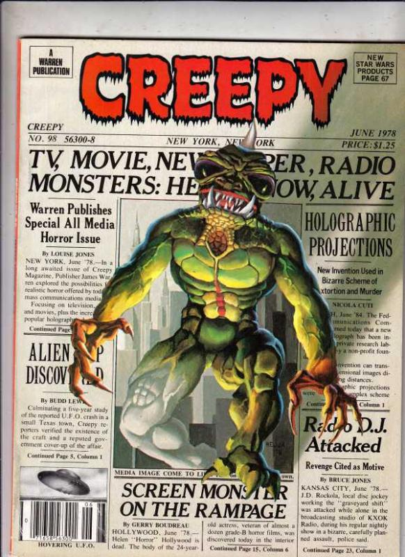 Creepy Magazine #98 (Jun-78) VF/NM High-Grade