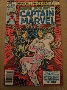 Marvel Spotlight On Captain Marvel