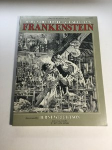 Mary Wollstonecraft Shelly's Frankenstein Illustrated By Berni Wrightson Nm