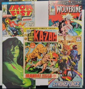 Marvel Classic To Modern 5 Book Lot