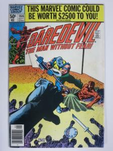DAREDEVIL 166 VG Sept. 1980 Frank Miller!