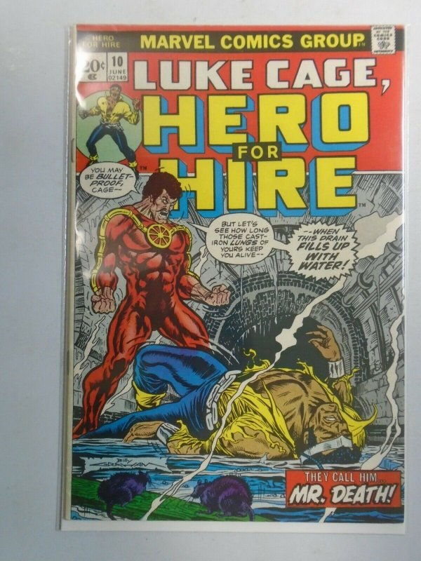 Power Man and Iron Fist #10 Luke Cage 6.0 FN (1973 Hero for Hire)