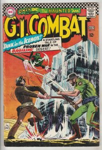 G.I. Combat #117 (May-66) VF+ High-Grade The Haunted Tank