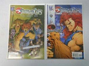 ThunderCats #1B + 2B Variants (2nd Series) 8.0 VF (2002)