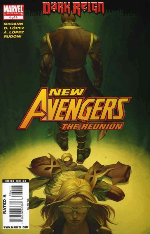 New Avengers: The Reunion #4 FN; Marvel | save on shipping - details inside