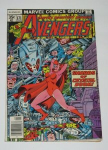Avengers #171 Scarlet Witch Ultron & Jocasta Appearance 1978 Marvel Comics VF/NM