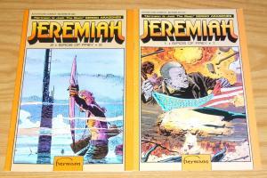 Jeremiah: Birds of Prey #1-2 FN complete series HERMANN adventure comics 1991