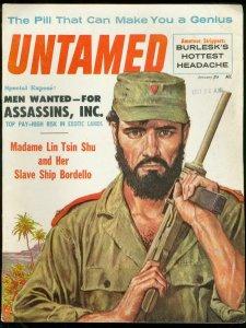 UNTAMED-JAN 1960-SLAVES-JUNE WILKINSON-BEETLE BAILEY-  VF