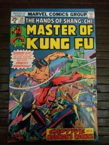 Master of Kung Fu #34 Marvel Comics Shang-Chi (1975)