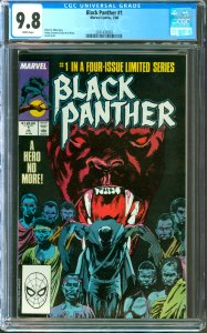 Black Panther #1 CGC Graded 9.8
