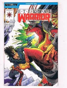 Eternal Warrior #2 NM Valiant Comics Comic Book Sept 1992 DE43 TW14