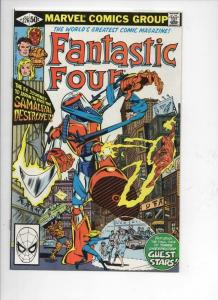 FANTASTIC FOUR #226, NM-, Sienkiewicz, Samurai, 1961 1981, Marvel