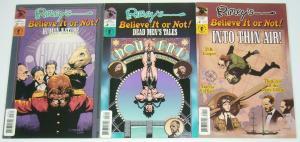 Ripley's Believe It Or Not #1-3 VF/NM complete series - d.b. cooper - earhart