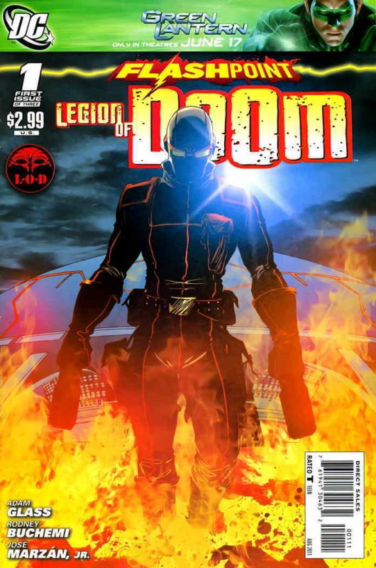 Flashpoint: The Legion of Doom #1 FN; DC | save on shipping - details inside