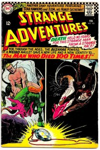 STRANGE ADVENTURES #185 (Feb1966) 7.5VF- Gil Kane! Sheldon Moldoff! Star Hawkins