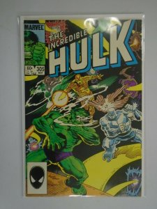 Incredible Hulk #305 Direct edition 6.0 FN (1985 1st series)