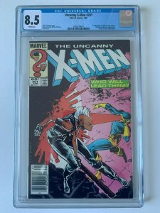 Uncanny X-Men #201 1st app Cable Nathan Summers as Baby - CGC 8.5