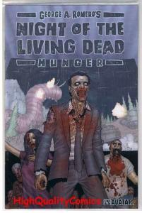 NIGHT of the LIVING DEAD 1, NM, Hunger, George Romero, 2007, Limited Platinum