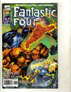 13 Fantastic Four Marvel Comics # 1 2 3 4 5 6 7 8 9 10 11 12 13 GK19
