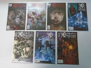 30 Days of Night lot 7 different issues 8.0 VF (2009-11 IDW)