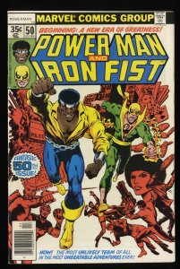 Power Man and Iron Fist #50 FN- 5.5