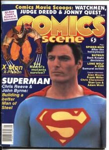 Comics Scene Special #1 1987-Starlogs-Alan Moore, Stan Lee, Adam West
