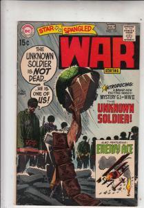 Star Spangled War Stories #151 (Jul-70) VF+ High-Grade Unknown Soldier