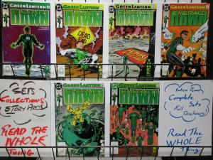 GREEN LANTERN EMERALD DAWN (1989) 1-6  COMPLETE SERIES!