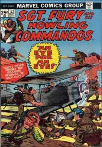 Marvel SGT. FURY AND HIS HOWLING COMMANDOS #121 VG