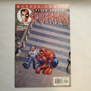 Peter Parker Spider-Man 35 Near Mint  Cover by Humberto Ramos