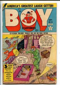 BOY #93 1953-LEV GLEASON-IRON JAW-ROCKY X-SID CHECK-THE CLAW-CRIMEBUSTER-vg