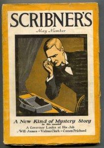 Scribner's Magazine May 1927- Canary Murder Case Philo Vance
