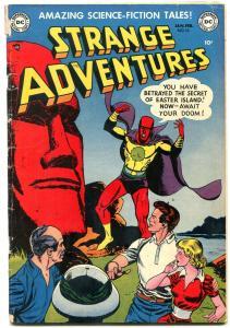 Strange Adventures #16 1952- Captain Comet- Easter Island VG