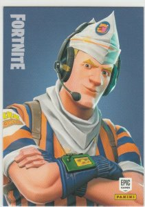 Fortnite Grill Sergeant 127 Uncommon Outfit Panini 2019 trading card series 1