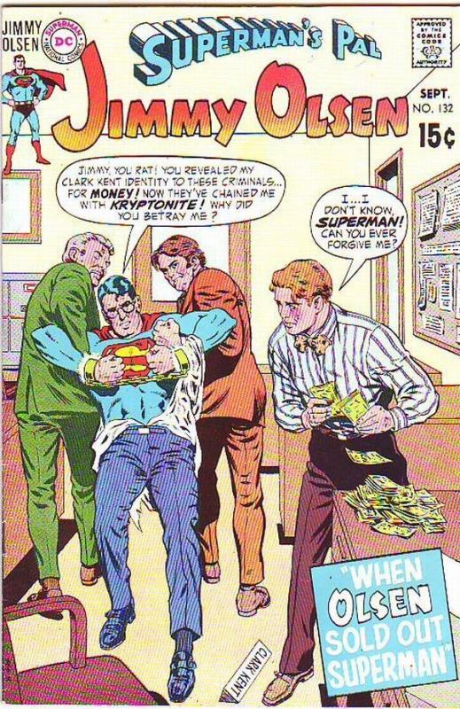 Superman's Pal Jimmy Olsen #132 (Sep-70) VF/NM High-Grade Jimmy Olsen